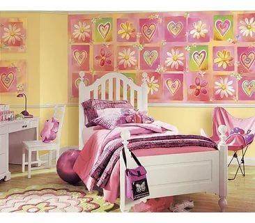 صور ورق جدران ثلاثي الابعاد , اجمل تصميمات ورق الحائط الثر دى لغرف النوم