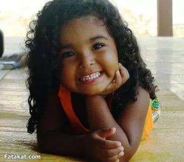 بالصور صور بنت صغيره , صورة رقيقة وجذابة لفتاة صغيرة سمراء 381 19