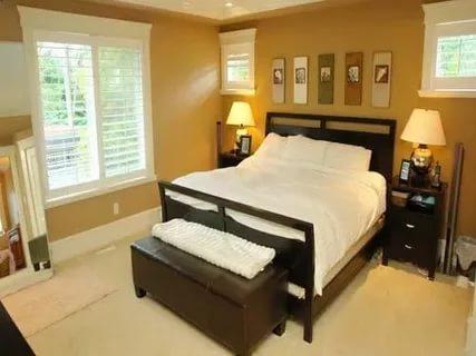 بالصور دهانات غرف نوم , احلى الدهانات الهادئة المناسبة لغرف النوم 385 3