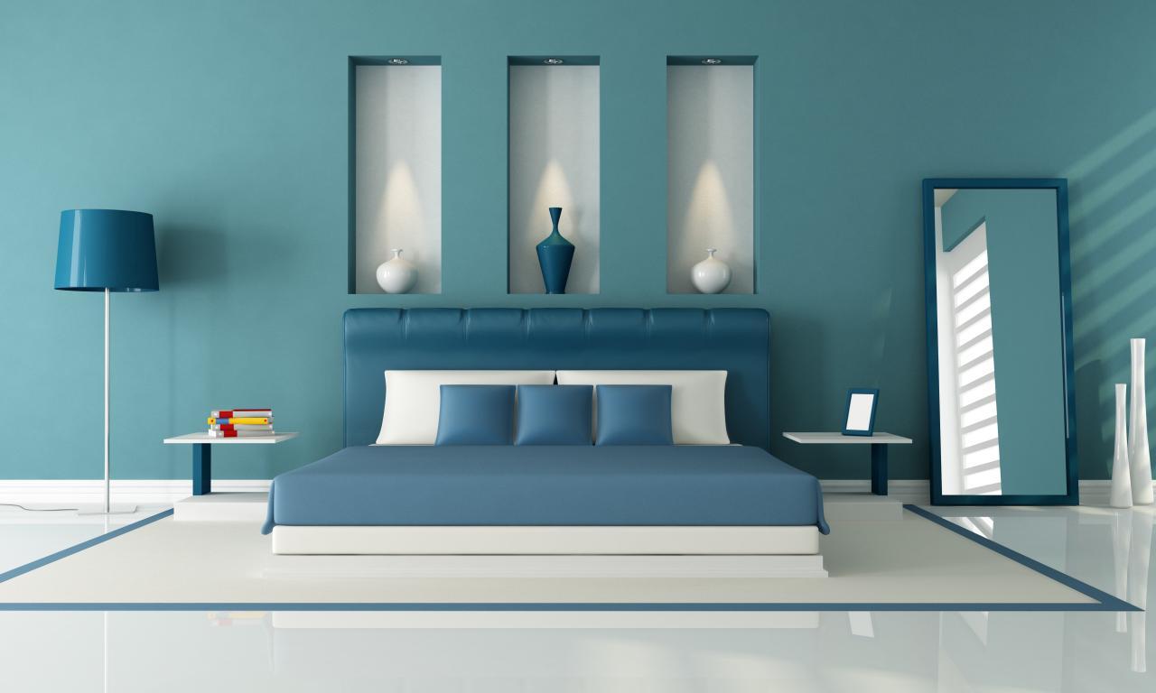 بالصور دهانات غرف نوم , احلى الدهانات الهادئة المناسبة لغرف النوم 385 4