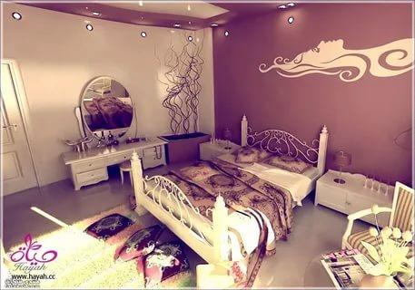 بالصور دهانات غرف نوم , احلى الدهانات الهادئة المناسبة لغرف النوم 385 6