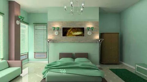 بالصور دهانات غرف نوم , احلى الدهانات الهادئة المناسبة لغرف النوم 385 7