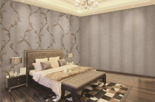 صورة ورق جدران غرف نوم , تصميمات رائعة لورق الحائط