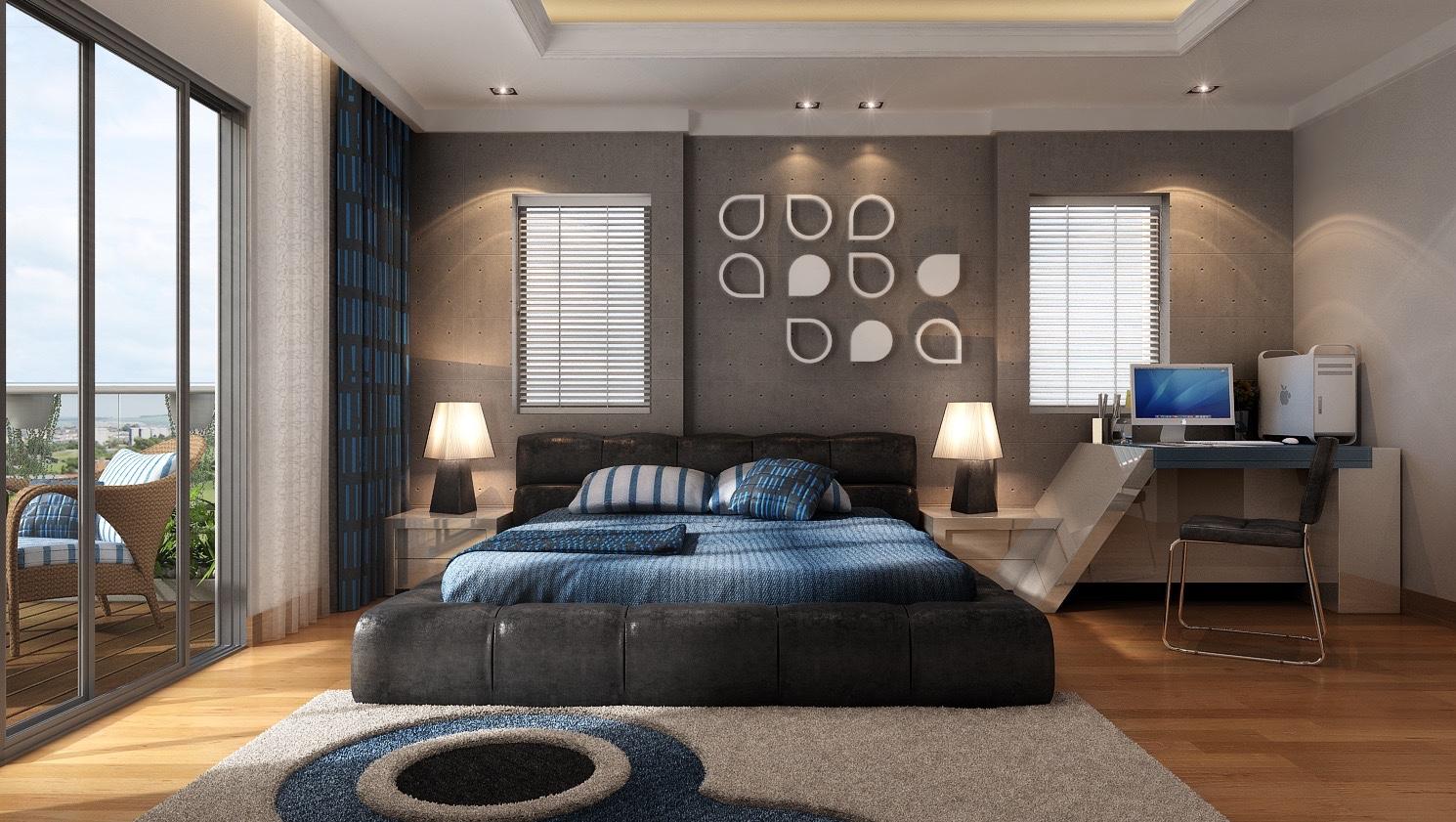 بالصور ورق جدران غرف نوم , تصميمات رائعة لورق الحائط