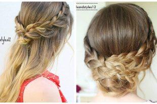 بالصور موديلات شعر بسيطة , عمل تسريحات شعر بسيطة وجميلة 570 2 310x205