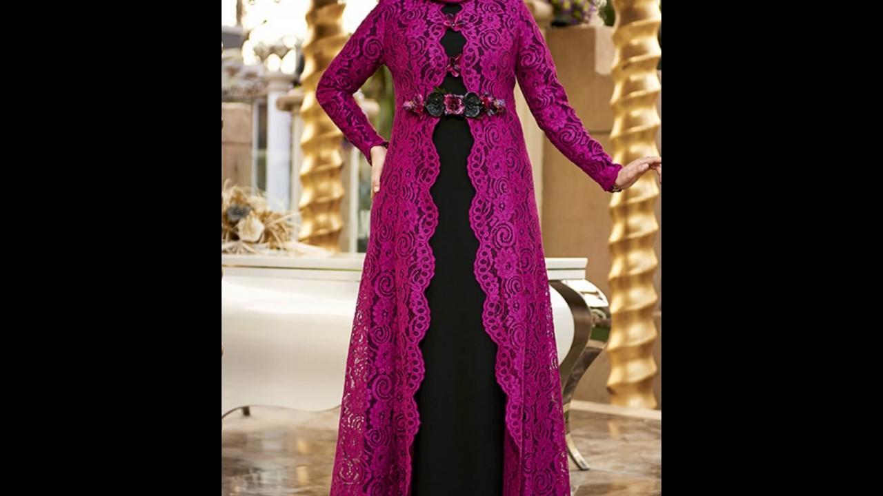 بالصور فصالات فساتين , اجمل تفصيلات الفساتين للمحجبات 781 2