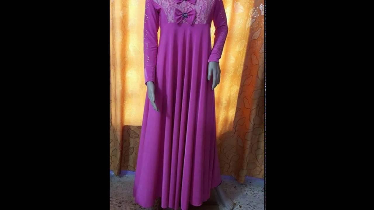 بالصور فصالات فساتين , اجمل تفصيلات الفساتين للمحجبات 781 3