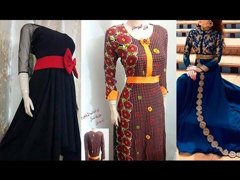 بالصور فصالات فساتين , اجمل تفصيلات الفساتين للمحجبات 781 7