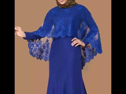 بالصور فصالات فساتين , اجمل تفصيلات الفساتين للمحجبات 781