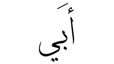 بالصور معنى اسم ابي , معني اسم ابي للمولود في المعجم 804 1