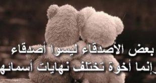 تعبير عن الصداقة , موضوع عن اهمية الصديق