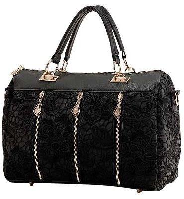 بالصور حقائب نسائية , اجمل الحقائب السوداء النسائية 812 1