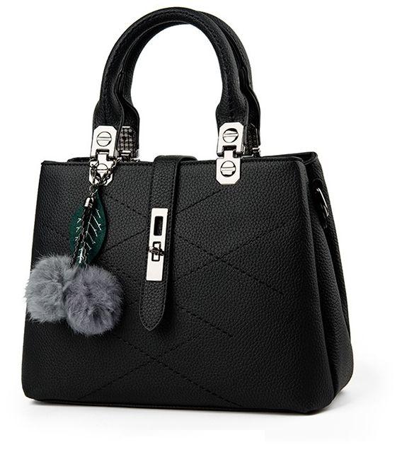 بالصور حقائب نسائية , اجمل الحقائب السوداء النسائية 812 2