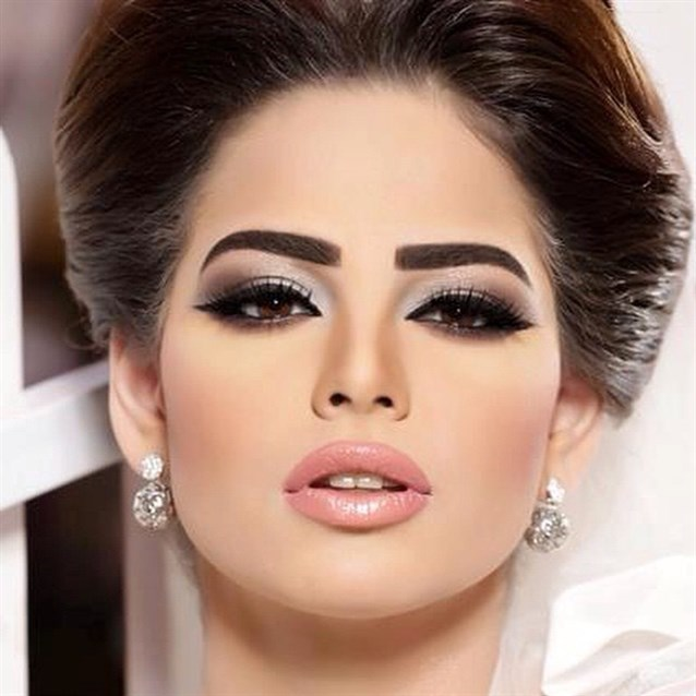 بالصور مكياج خليجي , صور لافخم المكياج الخليجي 824 9