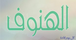 معنى اسم الهنوف , معني اسم هنوف في المعاجم العربية