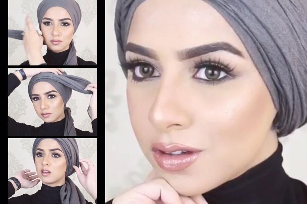 بالصور حجابات بنات , موديلات للفة حجاب بنات 906 10