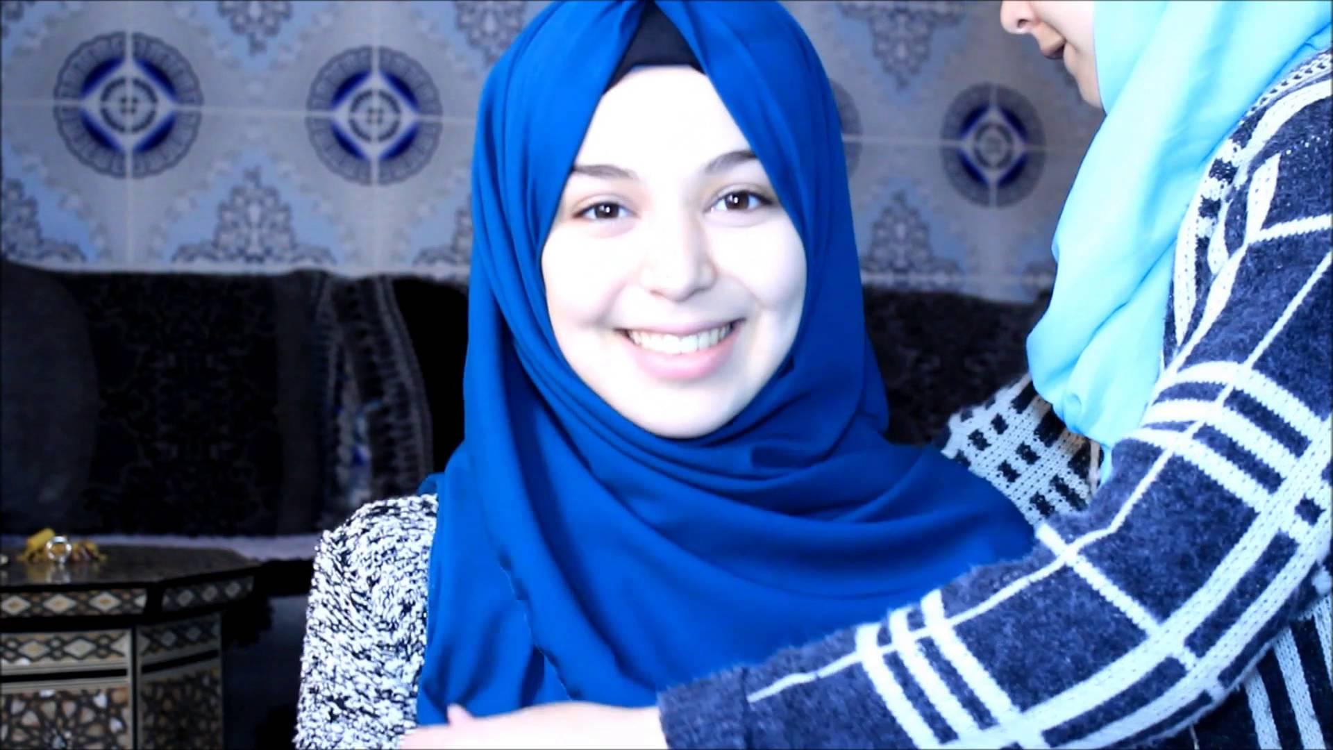 بالصور حجابات بنات , موديلات للفة حجاب بنات 906 4