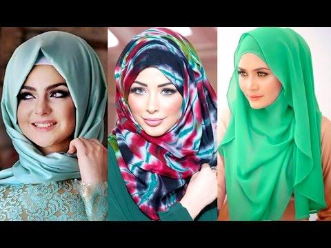 بالصور حجابات بنات , موديلات للفة حجاب بنات 906 5