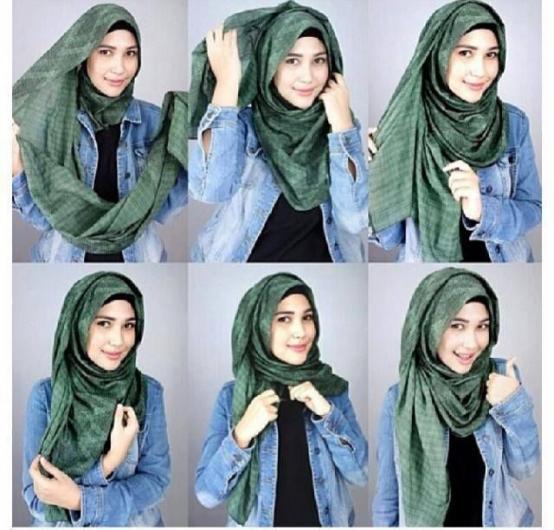 بالصور حجابات بنات , موديلات للفة حجاب بنات 906 7