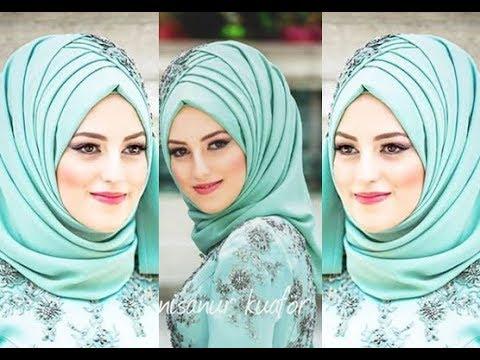 بالصور حجابات بنات , موديلات للفة حجاب بنات 906 8