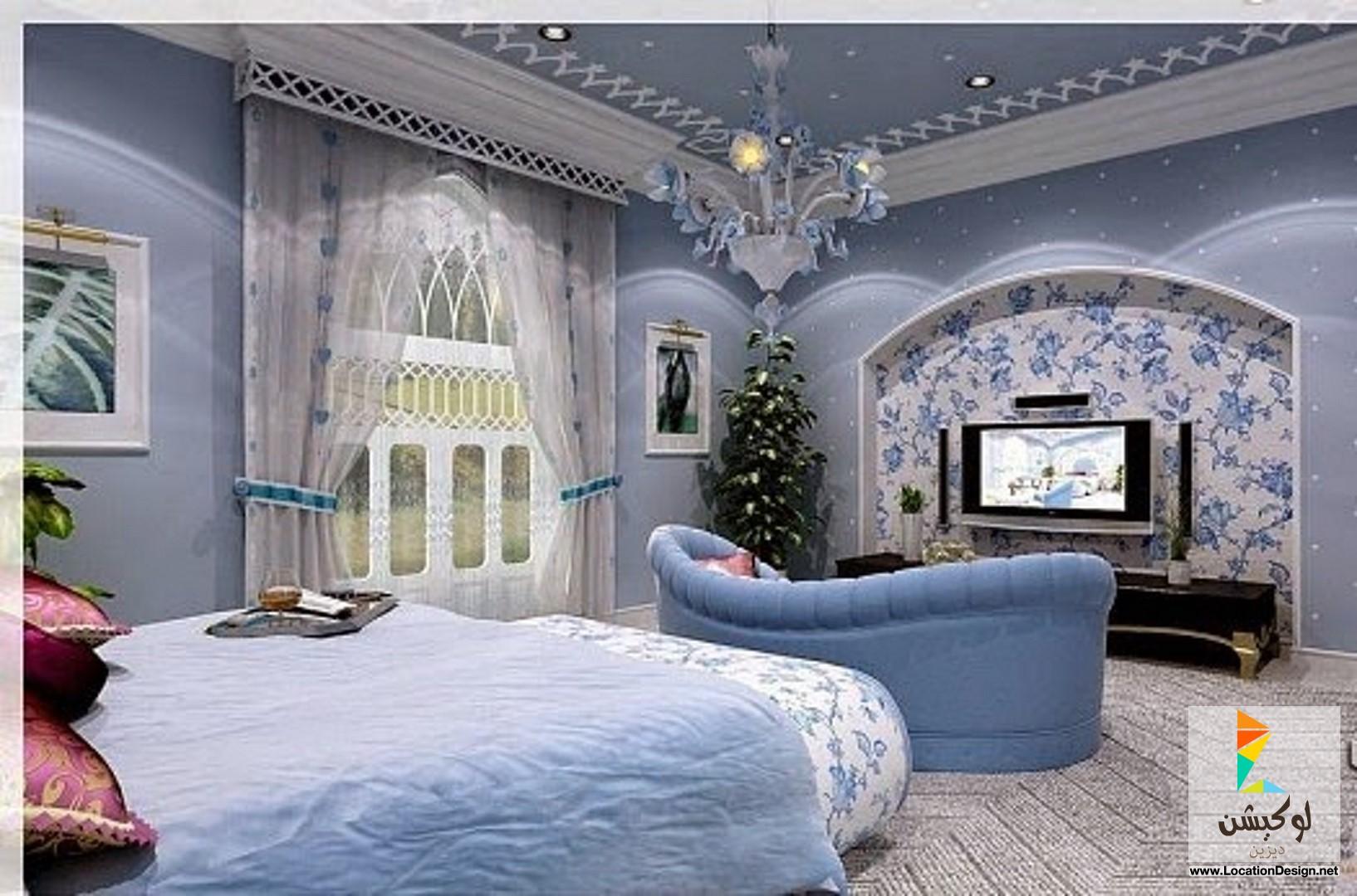 بالصور ديكورات غرف النوم الرئيسية , احدث الديكورات لغرف النوم الرئيسية 993 5