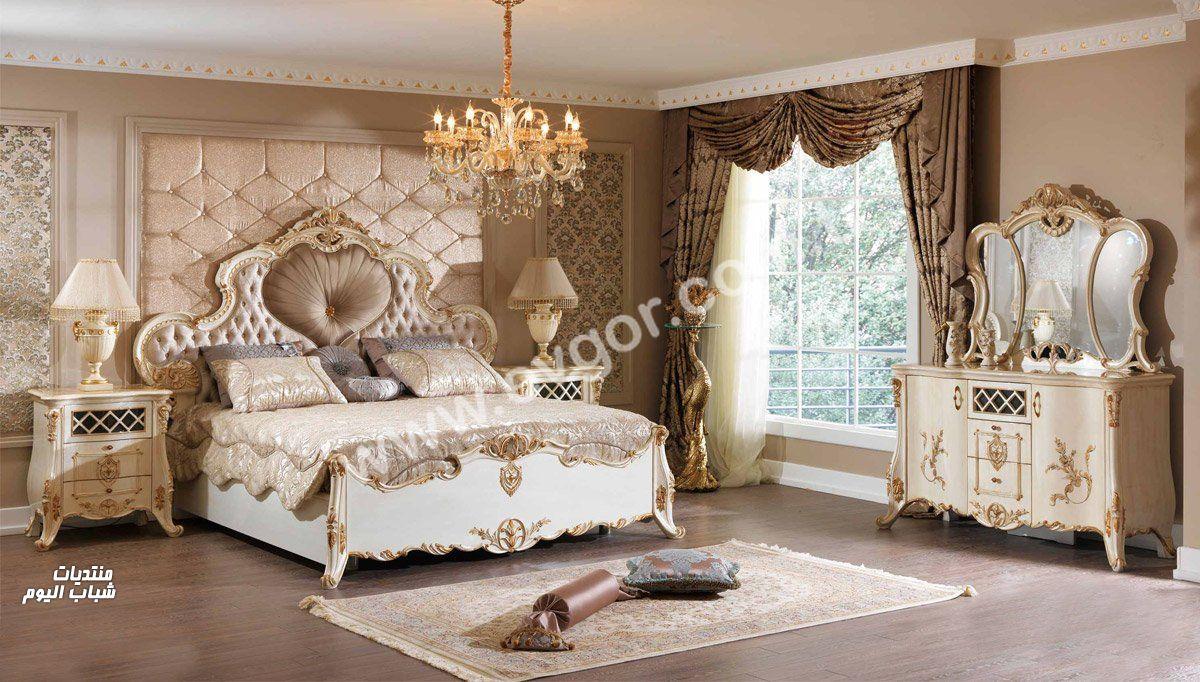 بالصور ديكورات غرف النوم الرئيسية , احدث الديكورات لغرف النوم الرئيسية 993 8