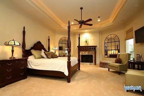 صوره ديكورات غرف النوم الرئيسية , احدث الديكورات لغرف النوم الرئيسية