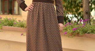 موديلات فساتين , احدث موديلات الفساتين الجميلة للمحجبات