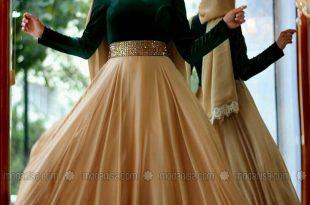 صورة صور فساتين سواريه , اجمل التصميمات لفستان سوارية انيق ومميز
