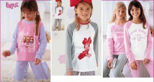 صوره بيجامات بنات , اجمل ملابس البيت للفتيات الصغار
