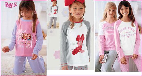 a53fbd4ec بيجامات بنات , اجمل ملابس البيت للفتيات الصغار - كلام حب