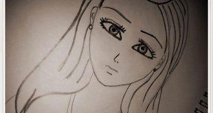 صوره رسومات بنات حلوه , اجمل صور الرسومات لوجوة الفتيات