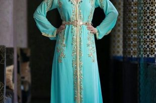 صورة قنادر قطيفة للاعراس , لباس موروث للعرائس الحسناء
