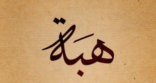 صوره معنى اسم هبه , اسماء ومعاني
