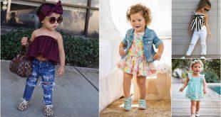 صوره ملابس بنات اطفال , موضة لملابس البنات الصغيرات