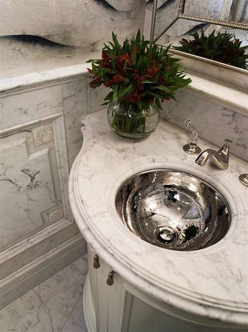 بالصور اشكال مغاسل رخام طبيعي , احواض رخام وحمامات 707 10