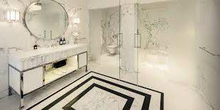 صور اشكال مغاسل رخام طبيعي , احواض رخام وحمامات