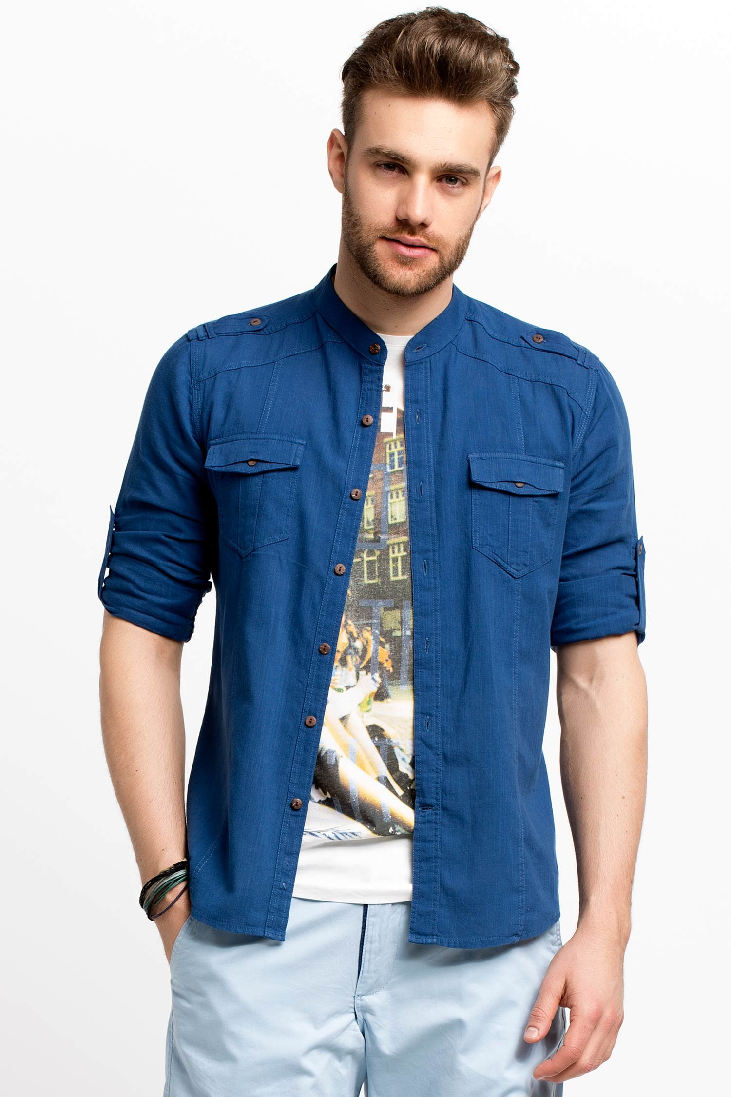 بالصور قميص رجالي , اختيار القميص المناسب من اسرار جذب النساء 1498 7