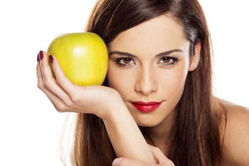 صورة ماسك التفاح للشعر , طريقة تحضير ماسك التفاح وفوائدة للشعر