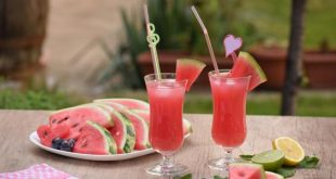 طريقة عمل عصير البطيخ , الذ طريقة لعمل مشروب البطيخ الصيفي