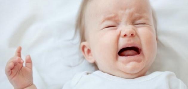 صورة سبب بكاء الطفل الرضيع وهو نائم , اسباب البكاء اثناء النوم لدى الاطفال الصغار 8619 1