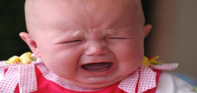 صورة سبب بكاء الطفل الرضيع وهو نائم , اسباب البكاء اثناء النوم لدى الاطفال الصغار 8619