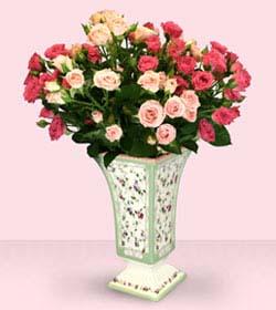 بالصور فازات ورد طبيعي , اشكال مختلفة من فازات الورد الكلاسيك والمودرن 8627 5