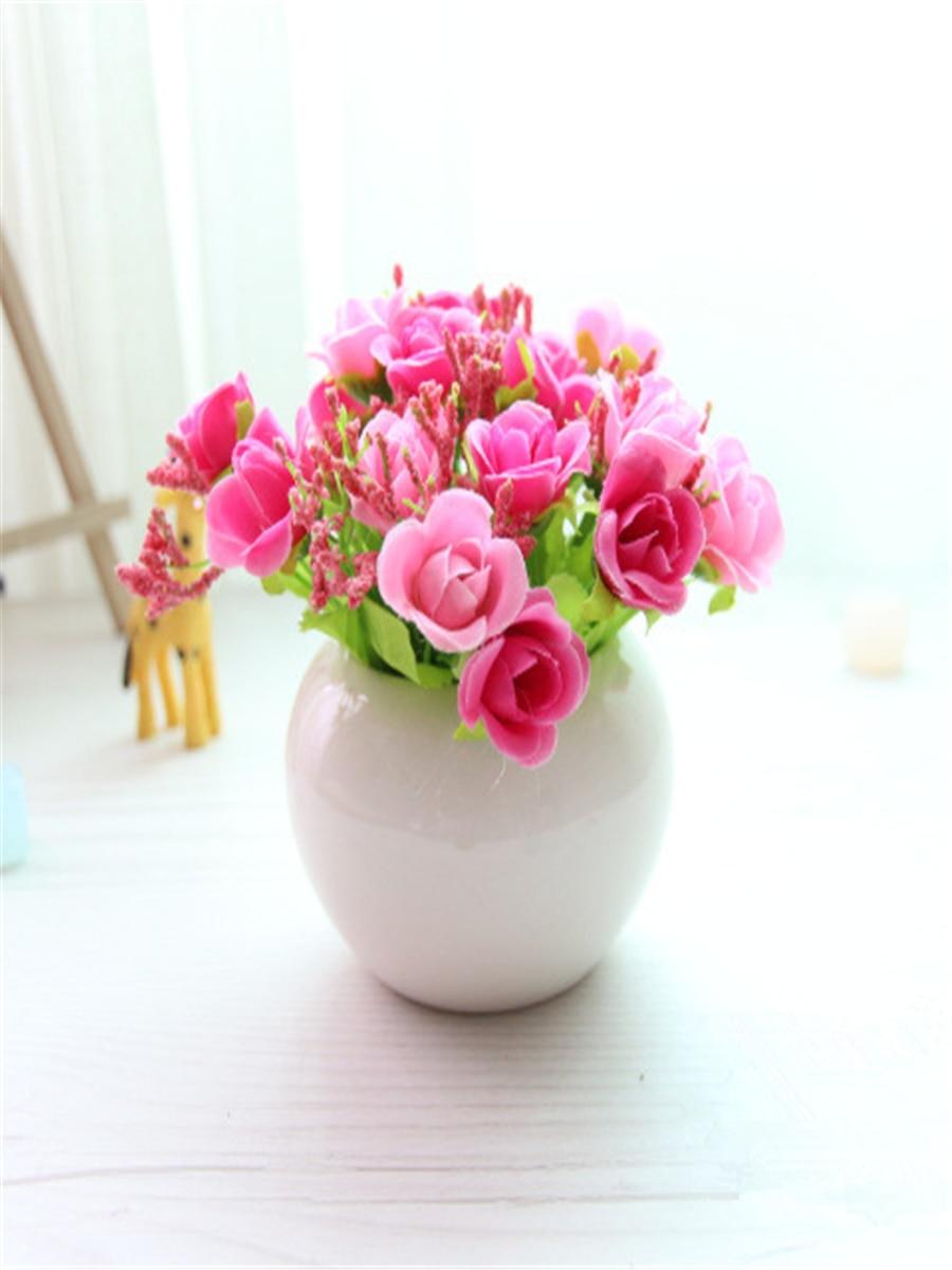 بالصور فازات ورد طبيعي , اشكال مختلفة من فازات الورد الكلاسيك والمودرن 8627