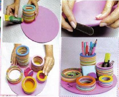 بالصور اعمال يدويه بسيطه وسهله , افكار مبتكرة وبسيطة للاعمال اليدوية 8658 4