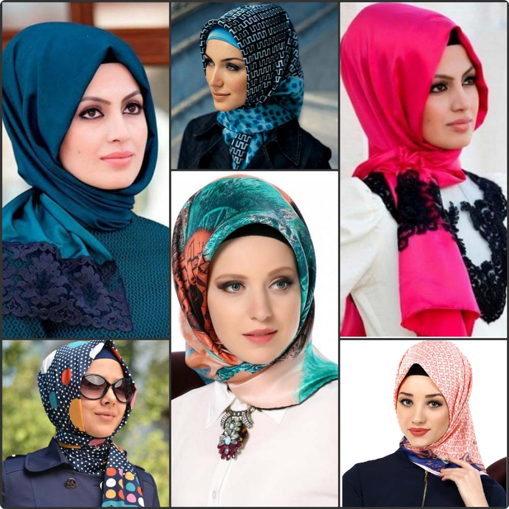 بالصور طريقة لف الحجاب التركي