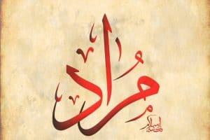 بالصور معنى اسم مراد , تفسير اسم فتي مراد 8824