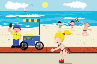صور فصل الصيف للاطفال , الصيف وجماله مع الاطفال