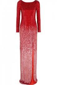 بالصور فساتين سهرة حمراء , شاهد شياكة الفستان الاحمر 10986 1