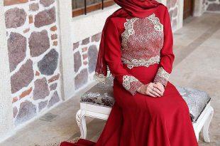 بالصور فساتين سهرة حمراء , شاهد شياكة الفستان الاحمر 10986 11 310x205